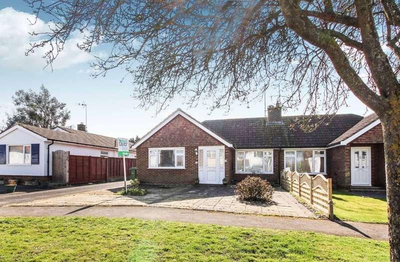 2 Bedrooms Semi Detached Bungalow for sale in Farhalls Crescent, Horsham