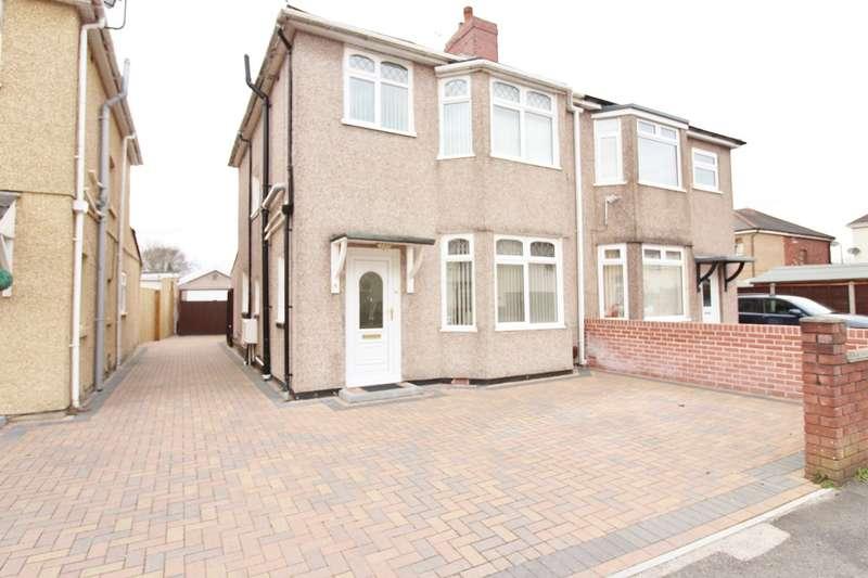 3 Bedrooms Semi Detached House for sale in Parfitt Street, Newport, NP19