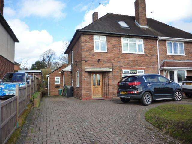 3 Bedrooms Semi Detached House for sale in SHENSTONE AVENUE, NORTON, STOURBRIDGE DY8