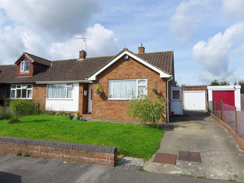2 Bedrooms Semi Detached Bungalow for sale in Cornfield Way, Tonbridge