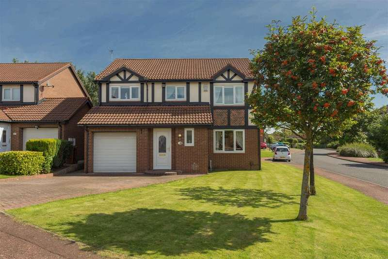 4 Bedrooms Detached House for sale in Candelford Close, Newcastle Upon Tyne