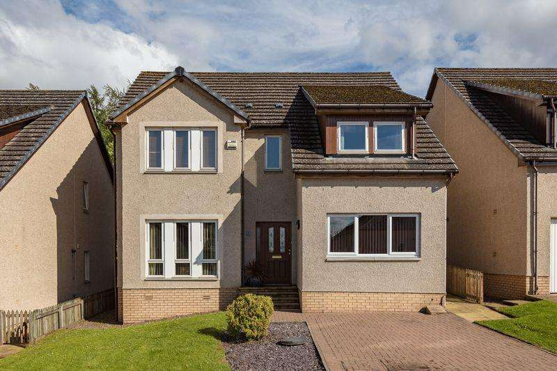 4 Bedrooms Detached House for sale in Chiefswood Road, Melrose