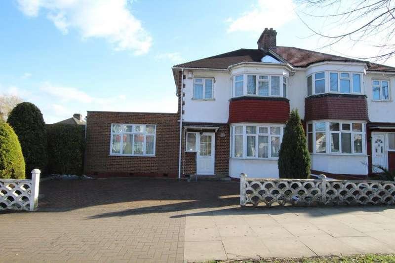 3 Bedrooms Semi Detached House for sale in Carlton Ave East, Preston Road Area HA9 8QB