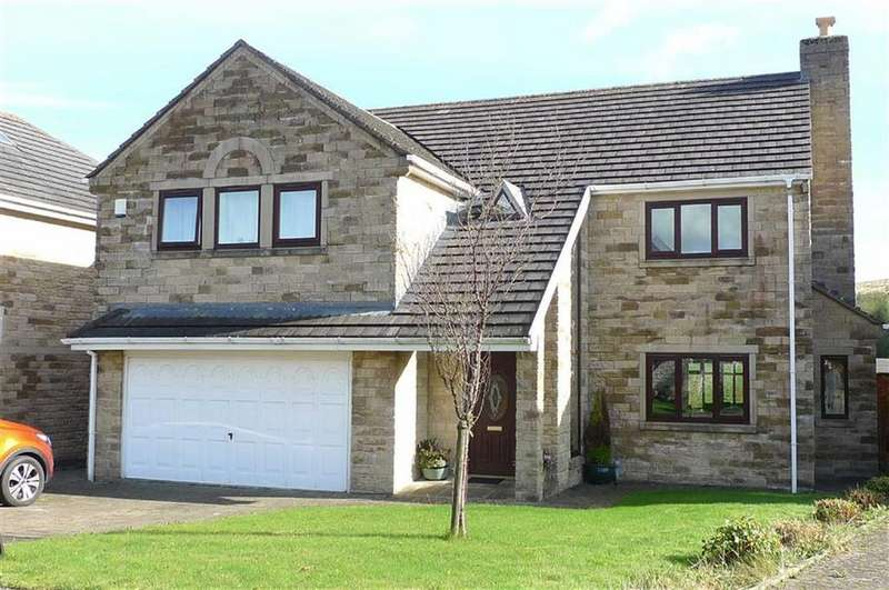 4 Bedrooms Detached House for sale in The Meadows, Dove Holes, Nr Buxton