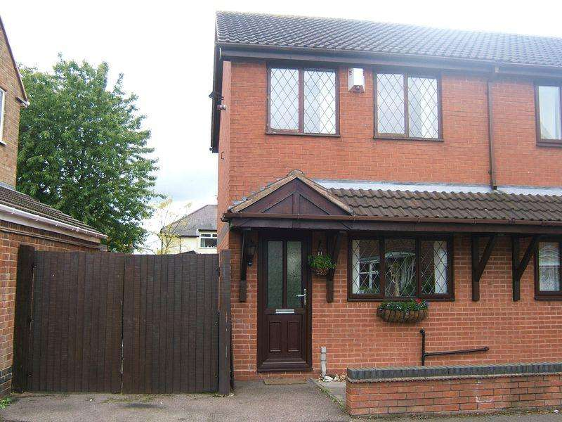 2 Bedrooms Semi Detached House for sale in Charles Crescent, Pelsall, Walsall