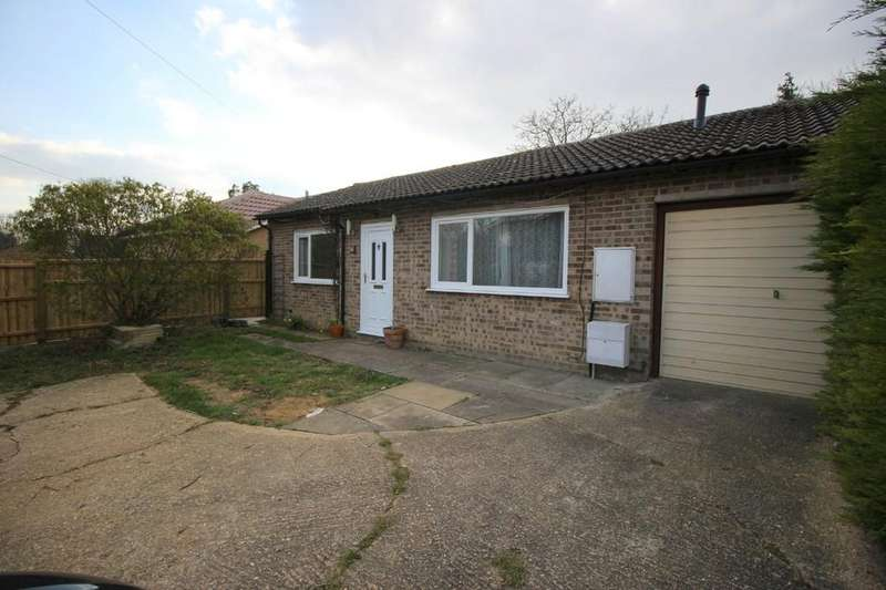 2 Bedrooms Detached Bungalow for sale in Cambridge Road, Hardwick