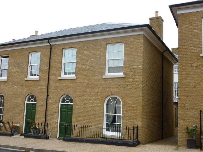 3 Bedrooms Semi Detached House for rent in Trematon Street, Poundbury, Dorchester, DT1