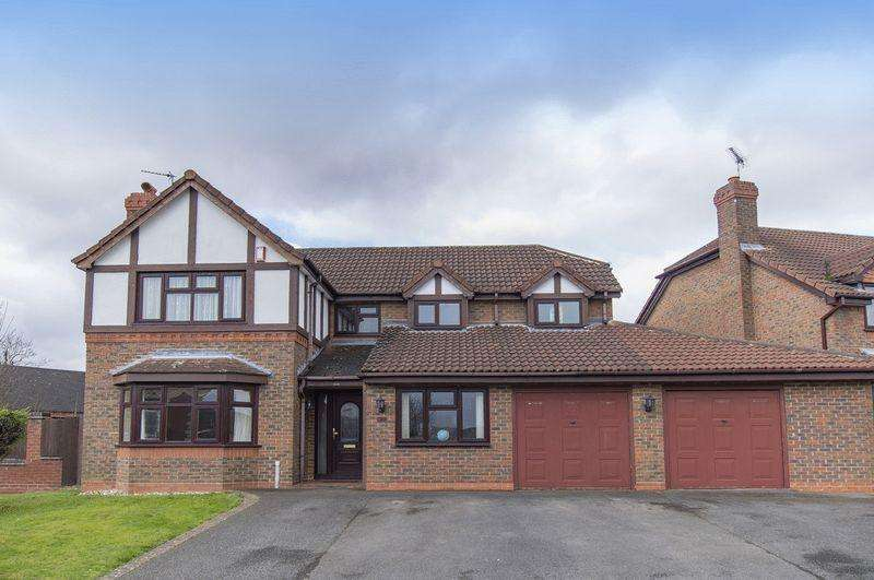 4 Bedrooms Detached House for sale in BERKELEY CLOSE, LITTLEOVER.