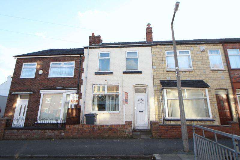 3 Bedrooms Terraced House for sale in Brownlow Road, New Ferry