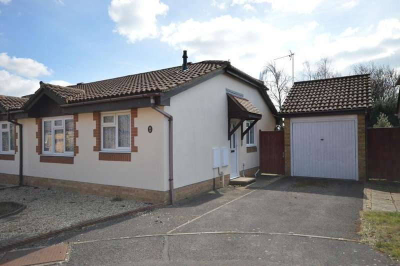 2 Bedrooms Semi Detached Bungalow for sale in Doe Copse Way, New Milton