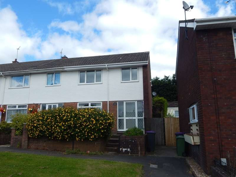 3 Bedrooms Semi Detached House for sale in Henllys Way, Cwmbran