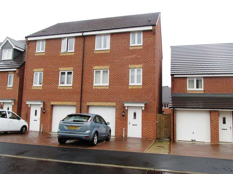 4 Bedrooms Town House for sale in Brookville Crescent, Newcastle upon Tyne