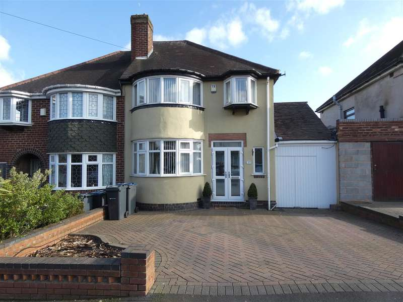 3 Bedrooms Semi Detached House for sale in Ollerton Road, Yardley, Birmingham