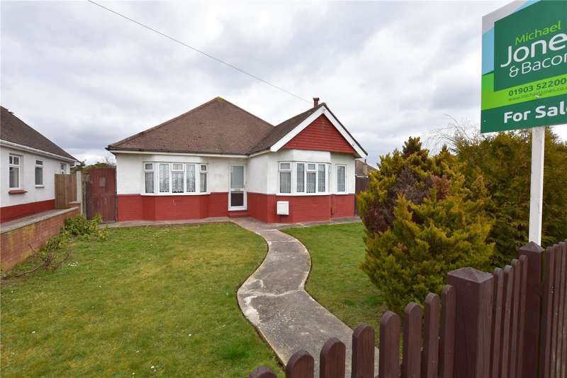 3 Bedrooms Detached Bungalow for sale in Crabtree Lane, Lancing, West Sussex, BN15