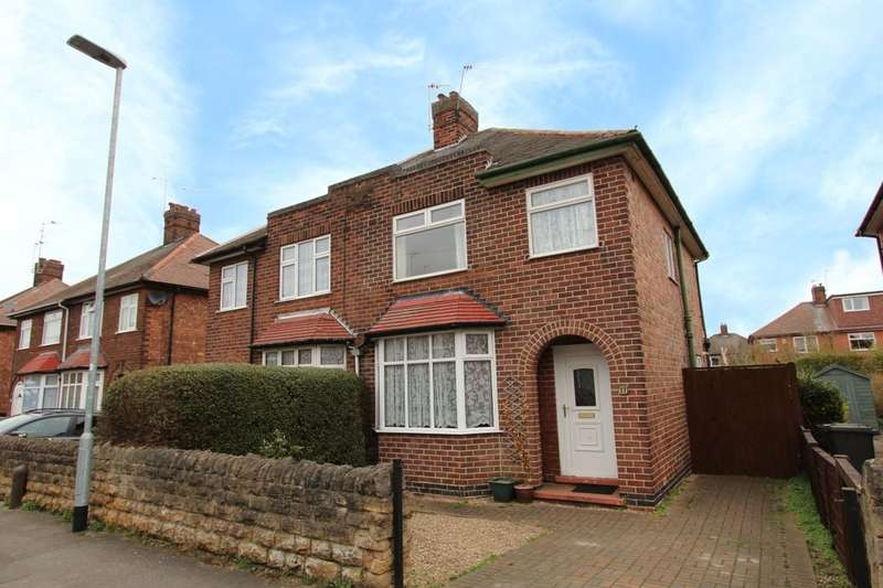3 Bedrooms Semi Detached House for sale in Ashfield Avenue, Beeston, Nottingham, NG9