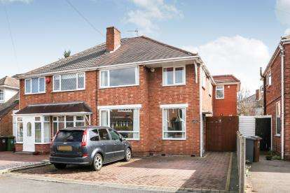 4 Bedrooms Semi Detached House for sale in Ventnor Road, Solihull, West Midlands