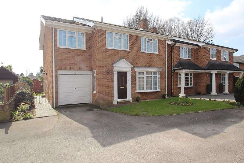 4 Bedrooms Detached House for sale in Tor Close, Down End, Fareham
