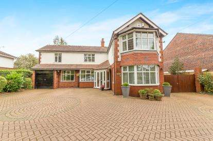 5 Bedrooms Detached House for sale in Werneth Road, Woodley, Stockport, Cheshire