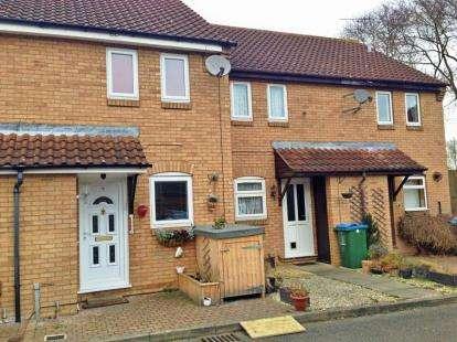 2 Bedrooms Terraced House for sale in Turner Close, Aylesbury, Buckinghamshire