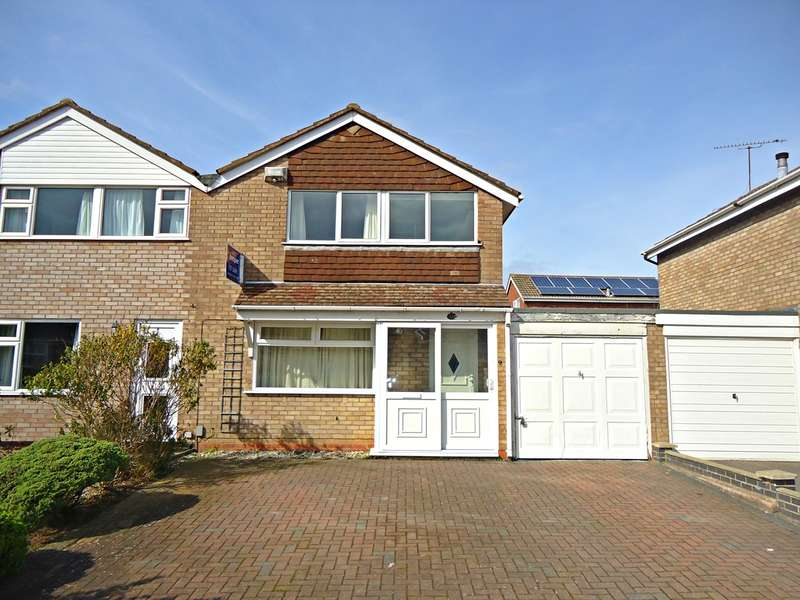 3 Bedrooms Semi Detached House for sale in Norfolk Crescent, Stockingford, Nuneaton, CV10