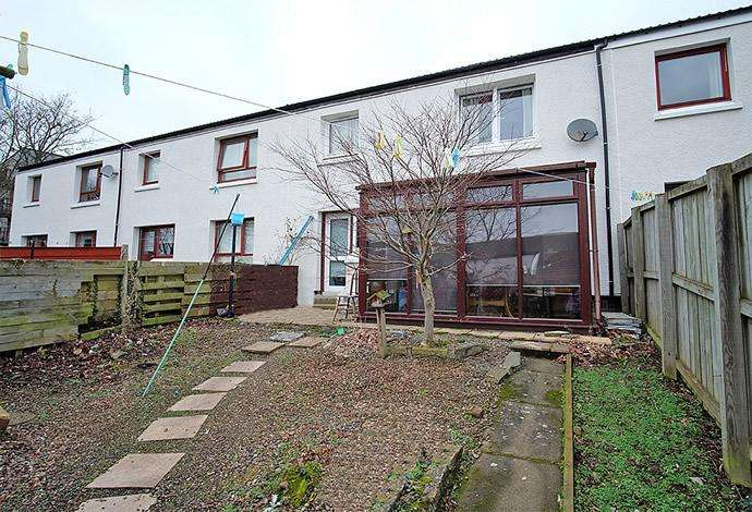 2 Bedrooms Terraced House for sale in 13 Heather Court, Galashiels, TD1 2LS