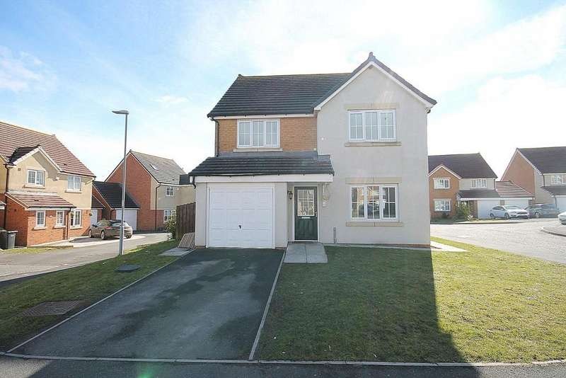4 Bedrooms Detached House for sale in Weavers Croft, Crook