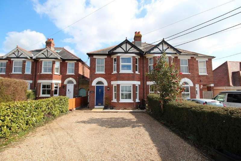 3 Bedrooms Semi Detached House for sale in West End Road, Bursledon SO31