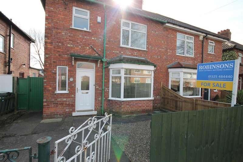 3 Bedrooms Semi Detached House for sale in Bates Avenue, Darlington