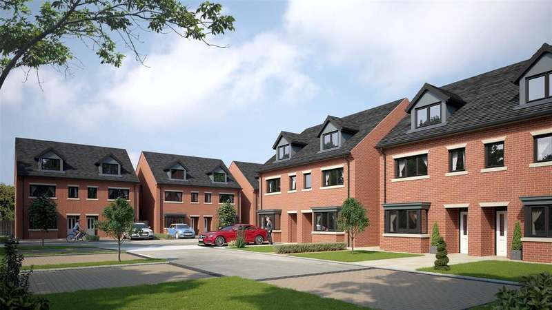 3 Bedrooms Semi Detached House for sale in Springfields Coppenhall Way, Sandbach