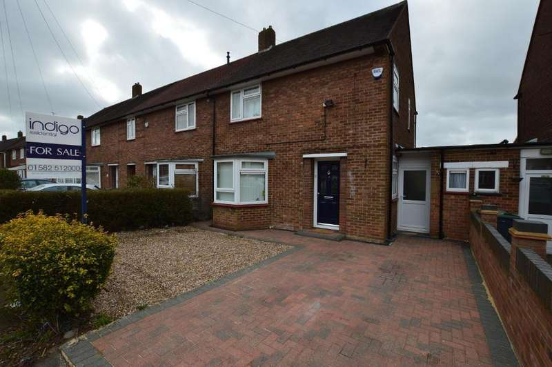 3 Bedrooms End Of Terrace House for sale in Priestleys, Farley Hill, Luton, LU1 5QL