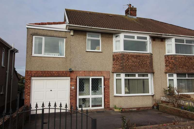 5 Bedrooms Semi Detached House for sale in Sandringham Avenue, Bristol, BS16 6NQ