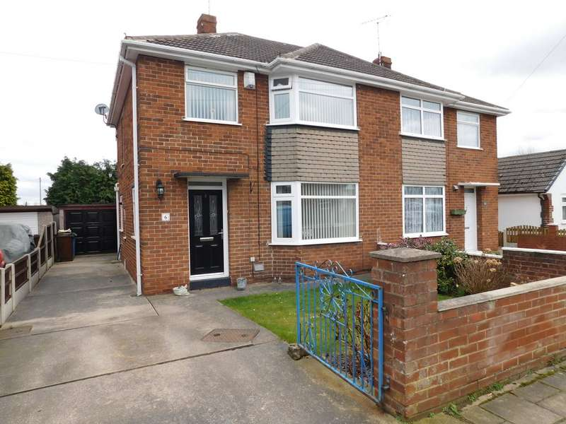 3 Bedrooms Semi Detached House for sale in Baker Road, Mansfield Woodhouse NG19