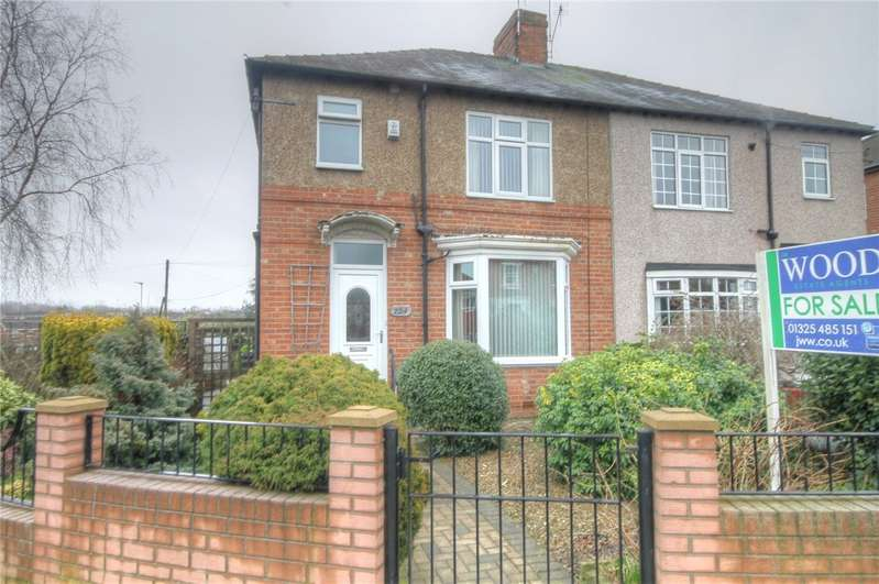 3 Bedrooms Semi Detached House for sale in North Road, Darlington, County Durham, DL1