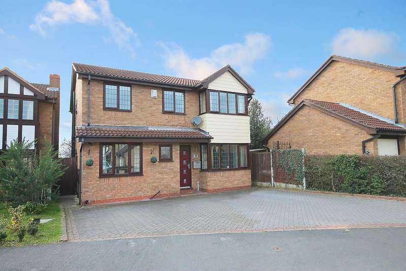 4 Bedrooms Detached House for sale in Kurtus, Dosthill, Tamworth, B77 1NX