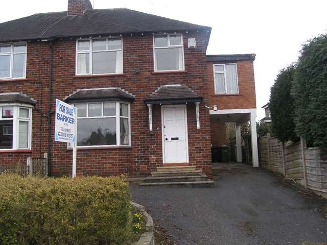 3 Bedrooms Semi Detached House for sale in 3 bed semi-detached house for sale, Macclesfield