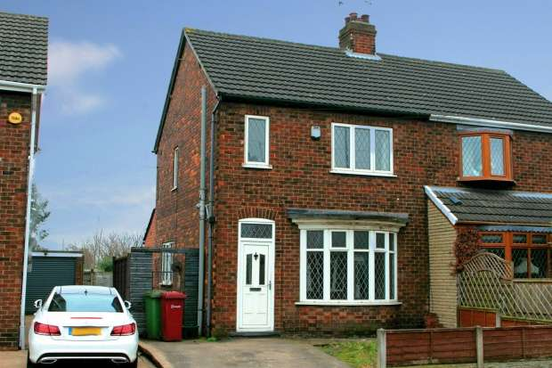 3 Bedrooms Semi Detached House for sale in Warwick Road, Scunthorpe, Lincolnshire, DN16 1EW