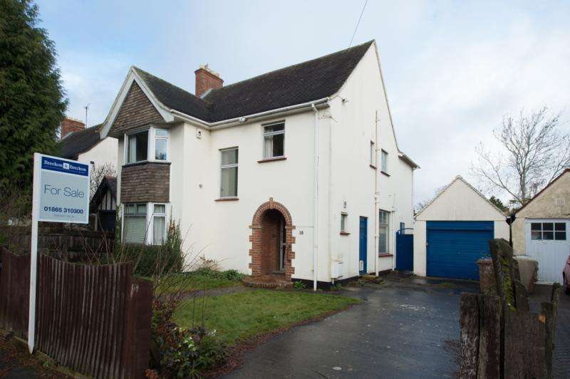 4 Bedrooms Detached House for sale in Upland Park Road, Oxford, Oxfordshire