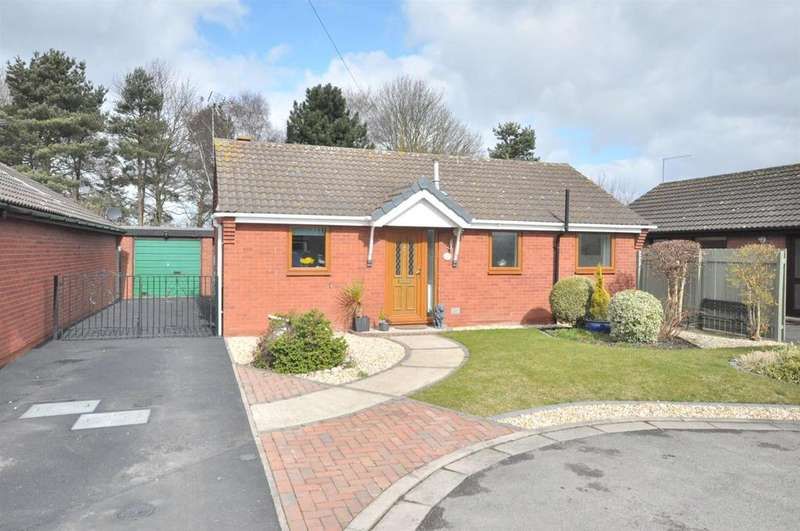 2 Bedrooms Detached Bungalow for sale in Juniper Gardens, Bingham, Nottingham