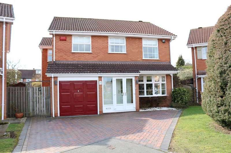 4 Bedrooms Detached House for sale in Rickard Close, Knowle