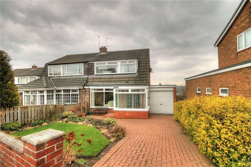 3 Bedrooms Semi Detached House for sale in Ross, Ouston, Chester Le Street, DH2
