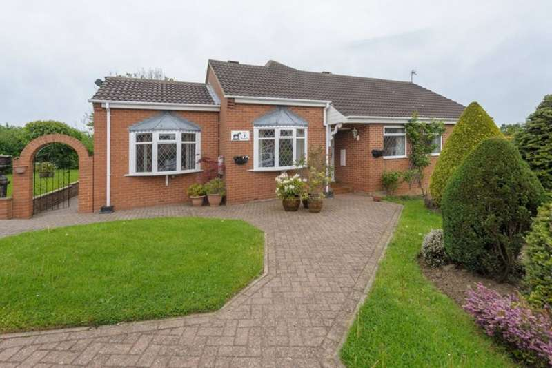 3 Bedrooms Detached Bungalow for sale in The Paddock, Newton Aycliffe, DL5