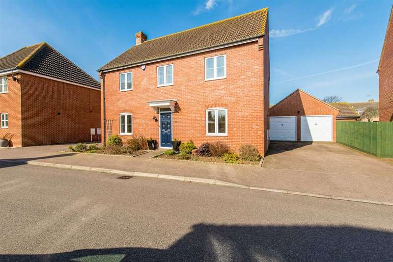 4 Bedrooms Detached House for sale in Maylam Gardens, Sittingbourne