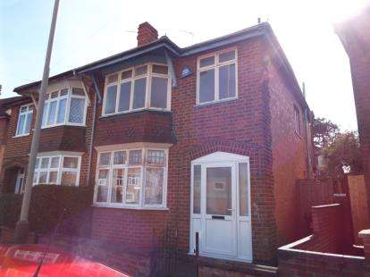 3 Bedrooms Semi Detached House for sale in Herschell Street, Leicester, Leicestershire