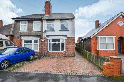 2 Bedrooms Semi Detached House for sale in Leamoor Avenue, Somercotes, Alfreton, Derbyshire
