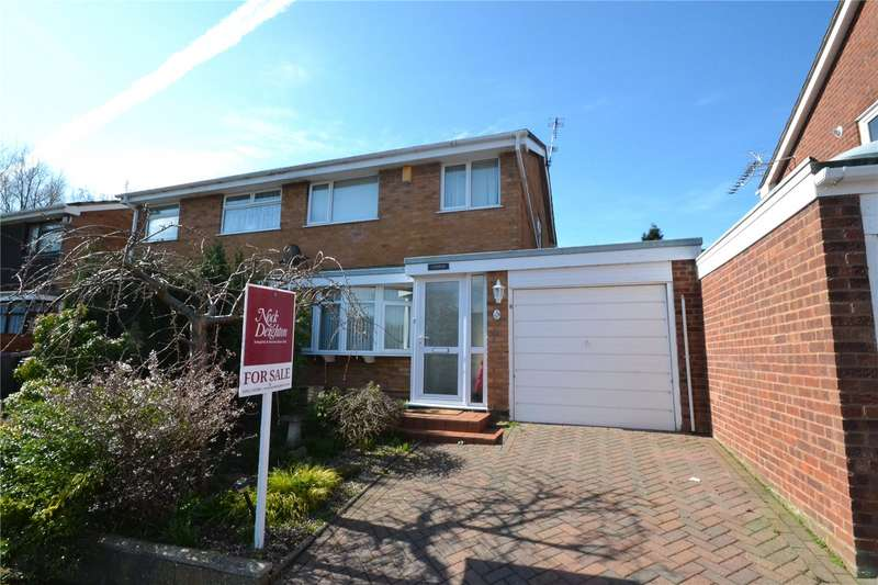 3 Bedrooms Semi Detached House for sale in 38 Manor Rise, Arleston, Telford, TF1