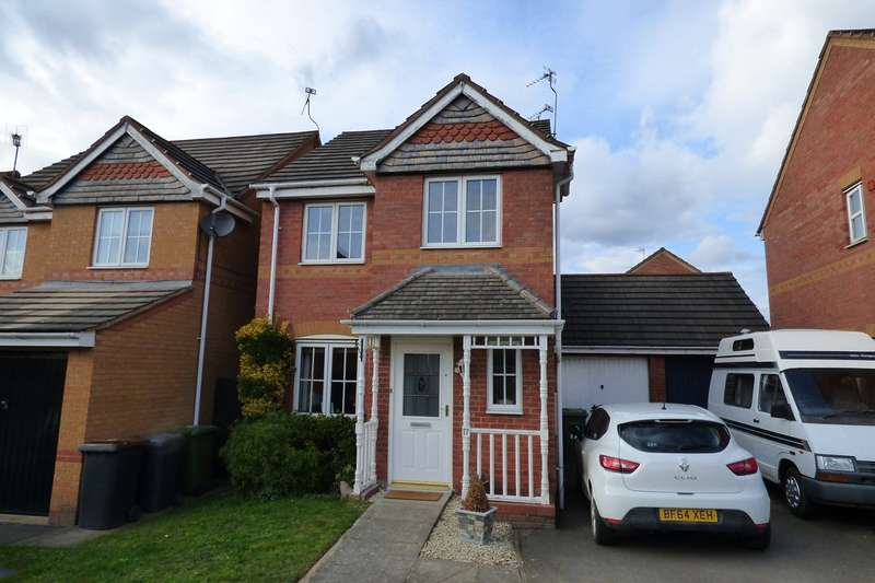 3 Bedrooms Link Detached House for sale in Upton Drive, Maple Park, Nuneaton, CV11