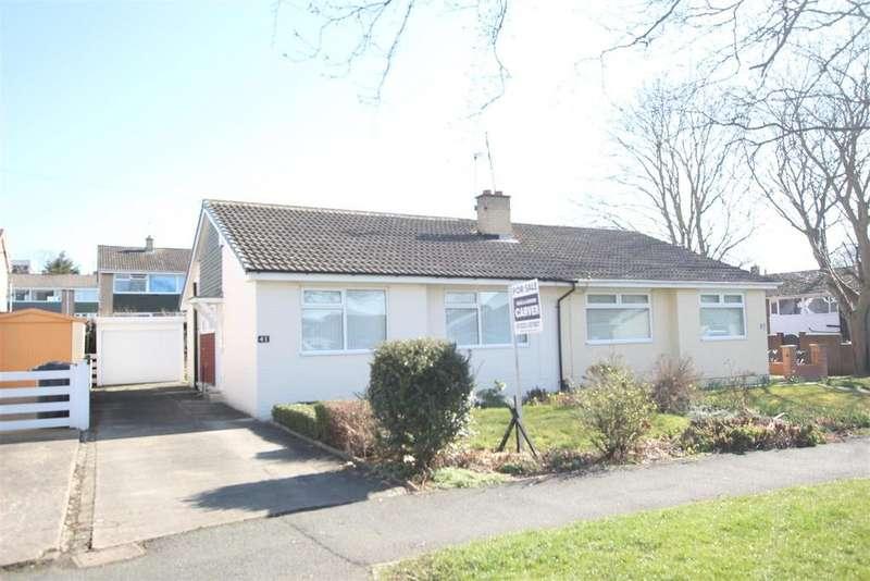 2 Bedrooms Semi Detached Bungalow for sale in Ridgeway, Darlington