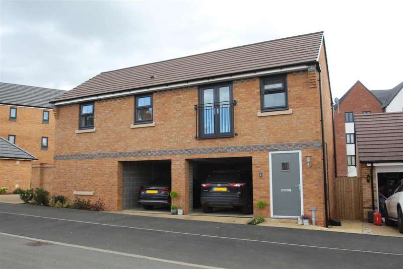 2 Bedrooms Apartment Flat for sale in Bacchus Lane, Fairfields, Milton Keynes