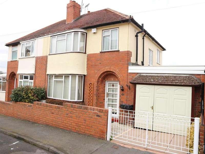 3 Bedrooms Semi Detached House for sale in Monument Avenue, Wollescote, Stourbridge