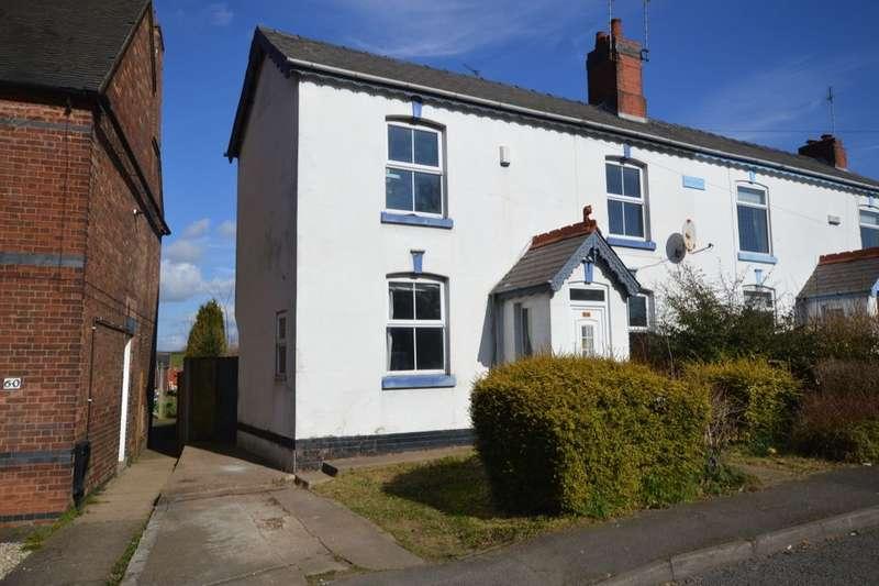 3 Bedrooms Semi Detached House for sale in Linton Road, Castle Gresley, Swadlincote, DE11